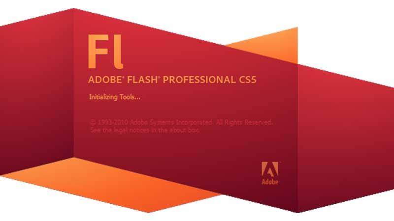 ประวัติศาสตร์โปรแกรม adobe flash
